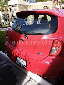 Nissan March Sense usado (2016) color Rojo precio $145,000