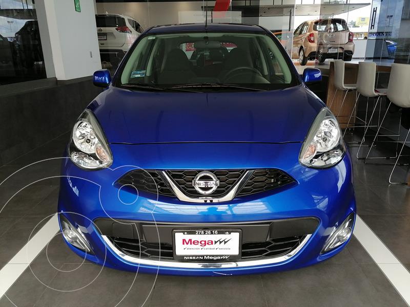 Foto Nissan March Advance usado (2020) color Azul financiado en mensualidades(enganche $101,475 mensualidades desde $3,464)