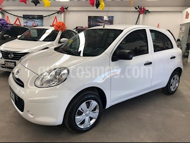 Foto Nissan March Active usado (2018) color Blanco precio $149,000