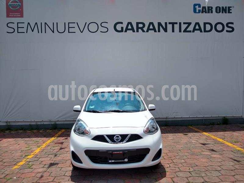 Nissan March Sense usado (2019) color Blanco precio $160,000
