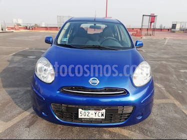 Nissan March Advance usado (2012) color Azul precio $77,500