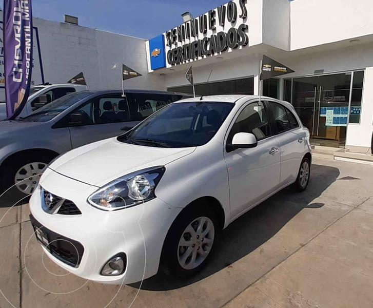 Foto Nissan March Advance Aut usado (2019) color Blanco precio $185,000