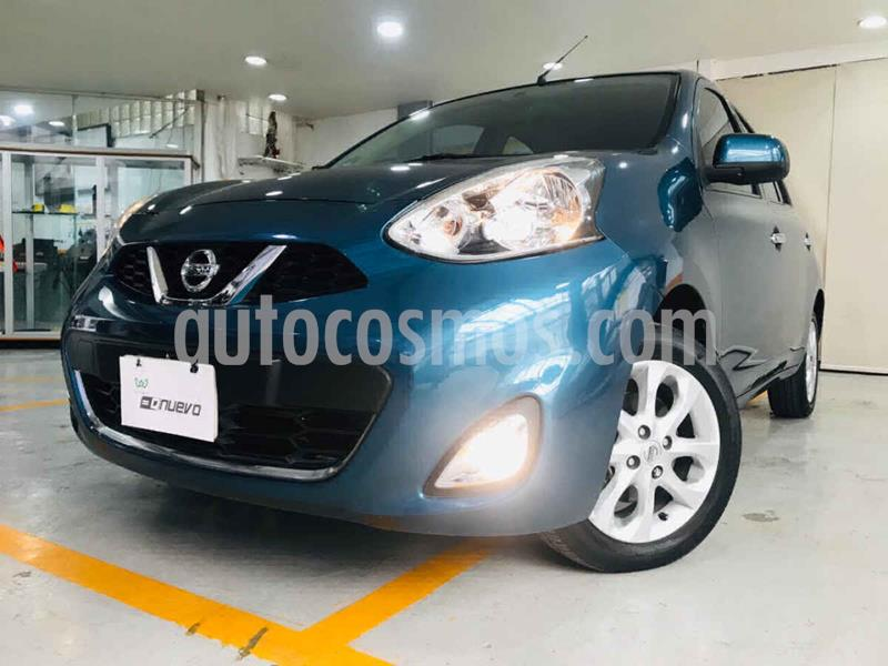 Nissan March Advance Aut usado (2017) color Azul precio $149,000
