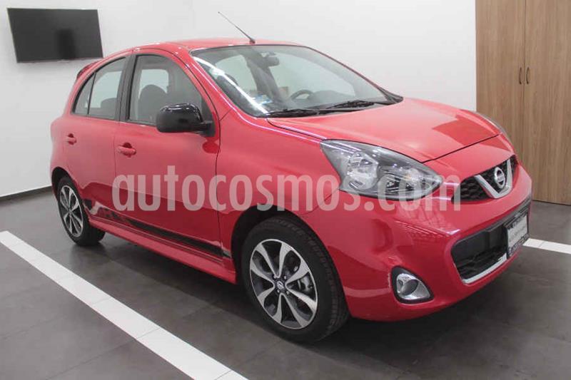 Nissan March SR usado (2018) color Rojo precio $187,000