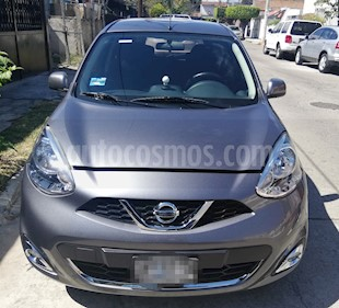 Nissan March Advance Aut usado (2017) color Gris precio $145,000