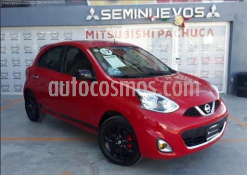 Nissan March Advance Aut usado (2017) color Rojo precio $155,000