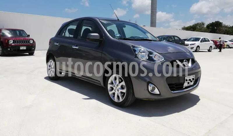 Nissan March Exclusive Aut usado (2017) color Gris Oxford precio $90,000