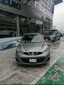 Foto venta Auto usado Nissan March Sense  Aut (2014) color Plata precio $115,000