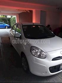 Foto venta Auto usado Nissan March Sense  Aut (2013) color Blanco precio $115,000