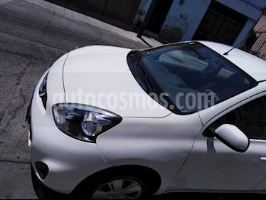 Nissan March Sense  Aut usado (2015) color Blanco precio $112,000