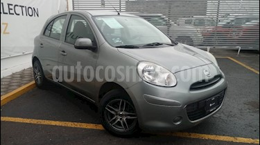 Foto venta Auto Seminuevo Nissan March Sense  Aut (2013) color Gris Oxford precio $98,000