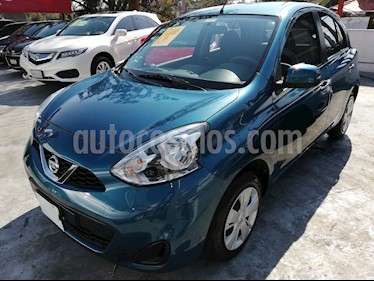Foto venta Auto Seminuevo Nissan March Sense  Aut (2015) color Azul Electrico precio $125,000