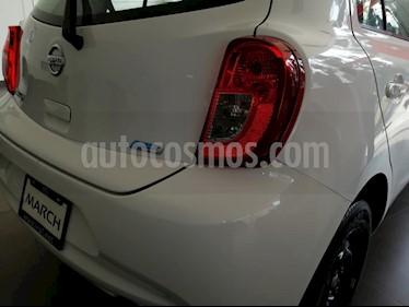 Foto venta Auto usado Nissan March Sense Aut (2017) color Blanco precio $145,000