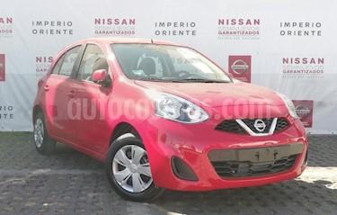 Foto venta Auto usado Nissan March Sense Aut (2018) color Rojo precio $165,000