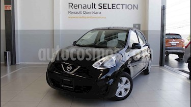foto Nissan March Sense Aut usado (2014) color Negro precio $135,000