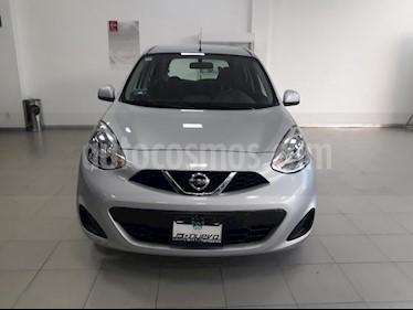 Foto venta Auto usado Nissan March Sense Aut (2015) color Plata precio $139,999