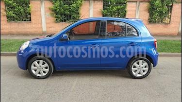 Nissan March Sense usado (2013) color Azul precio $14.200.000