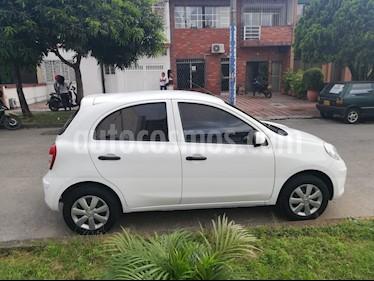 Nissan March Sense usado (2016) color Blanco precio $25.000.000