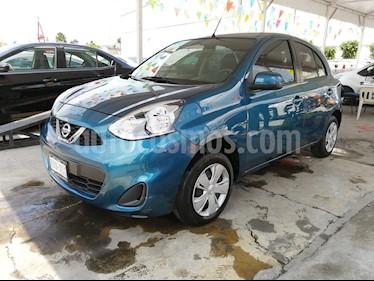 Foto Nissan March Sense  usado (2018) color Azul precio $130,000