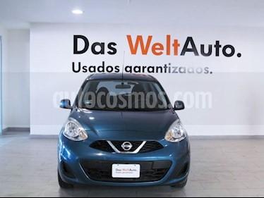 Foto venta Auto usado Nissan March Sense (2018) color Turquesa precio $165,000