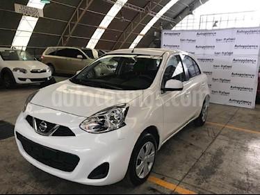Foto venta Auto usado Nissan March Sense (2018) color Blanco precio $159,900