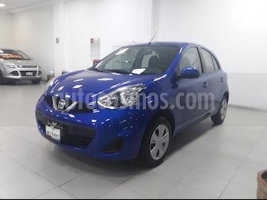 Foto venta Auto Seminuevo Nissan March Sense (2018) color Azul precio $179,999