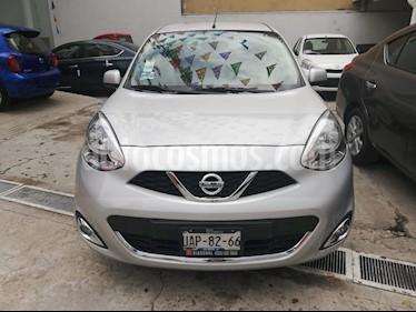 Foto venta Auto usado Nissan March Sense (2018) color Plata precio $159,900