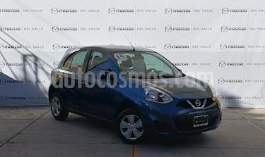 Foto venta Auto usado Nissan March Sense (2015) color Turquesa precio $130,000
