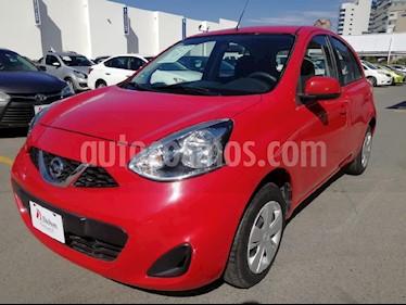 Foto venta Auto usado Nissan March Sense (2015) color Rojo precio $125,000