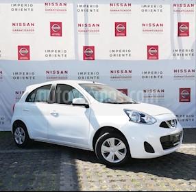 Foto venta Auto Seminuevo Nissan March Sense (2018) color Blanco precio $185,000