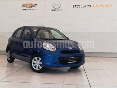 Foto venta Auto usado Nissan March Sense  (2013) color Azul Electrico precio $113,000