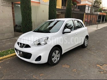 Nissan March Sense usado (2014) color Blanco precio $95,000