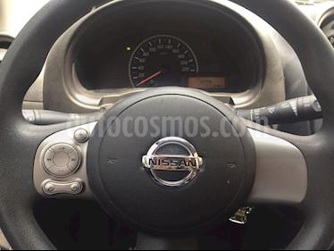 Foto venta Auto usado Nissan March Sense  (2013) color Gris Oscuro precio $115,000