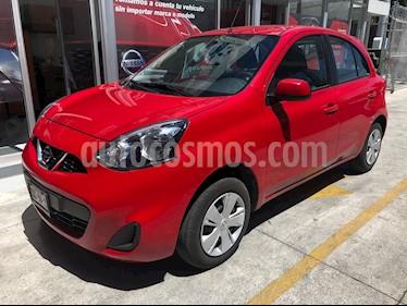 Foto venta Auto usado Nissan March Sense (2018) color Rojo precio $149,900