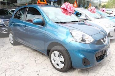 Foto venta Auto usado Nissan March Sense (2017) color Azul precio $150,000