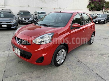 Nissan March Sense usado (2015) color Rojo precio $135,000