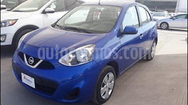 Foto venta Auto Seminuevo Nissan March Sense (2015) color Azul precio $134,000