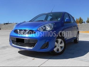 Foto venta Auto Seminuevo Nissan March Sense (2015) color Azul Electrico