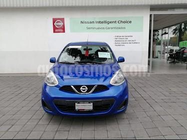 Foto venta Auto usado Nissan March Sense (2018) color Azul Electrico precio $159,000