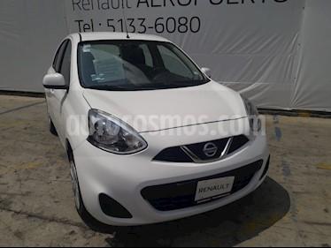 Foto venta Auto usado Nissan March Sense (2015) color Blanco precio $125,000