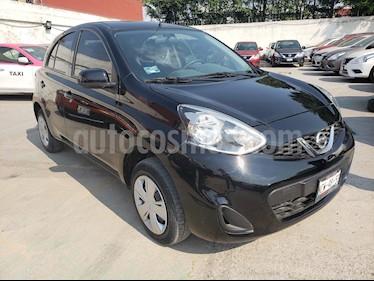 Foto venta Auto usado Nissan March Sense (2018) color Negro precio $148,000