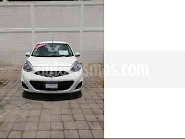 foto Nissan March Sense usado (2016) color Blanco precio $120,000