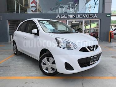 Foto venta Auto Seminuevo Nissan March Sense (2016) color Blanco precio $130,000