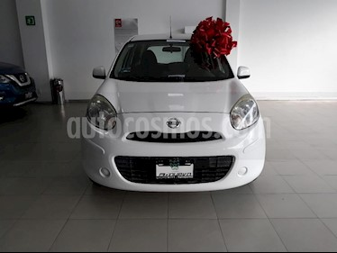 Foto venta Auto usado Nissan March Sense (2012) color Blanco precio $99,999