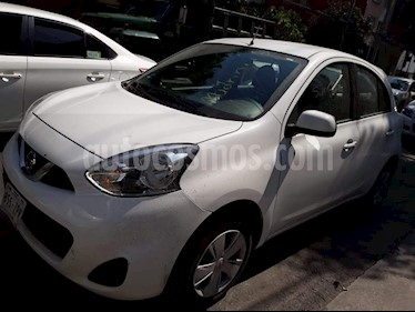 Foto venta Auto Seminuevo Nissan March Sense (2017) color Blanco