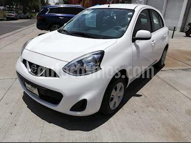 Foto venta Auto usado Nissan March Sense (2018) color Blanco precio $149,000