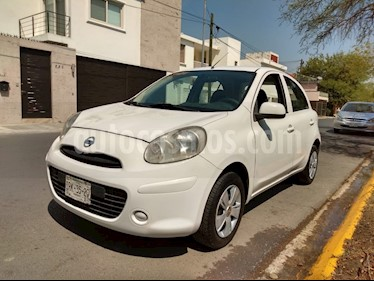 Foto Nissan March Sense usado (2012) color Blanco precio $94,900
