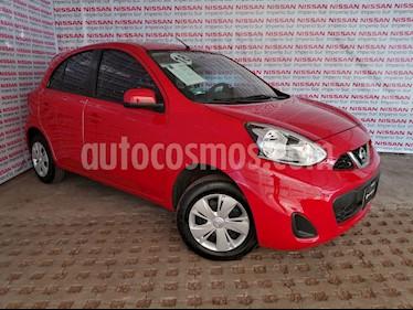 Foto Nissan March Sense  usado (2018) color Rojo precio $149,000