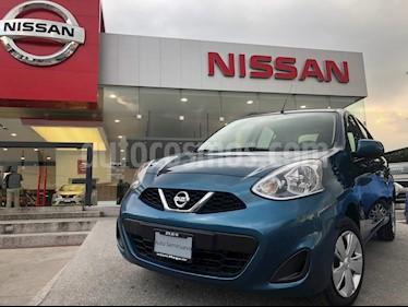 Foto venta Auto Seminuevo Nissan March Sense (2016) color Turquesa precio $149,000