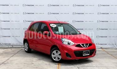 Foto venta Auto usado Nissan March Sense (2016) color Rojo precio $145,000